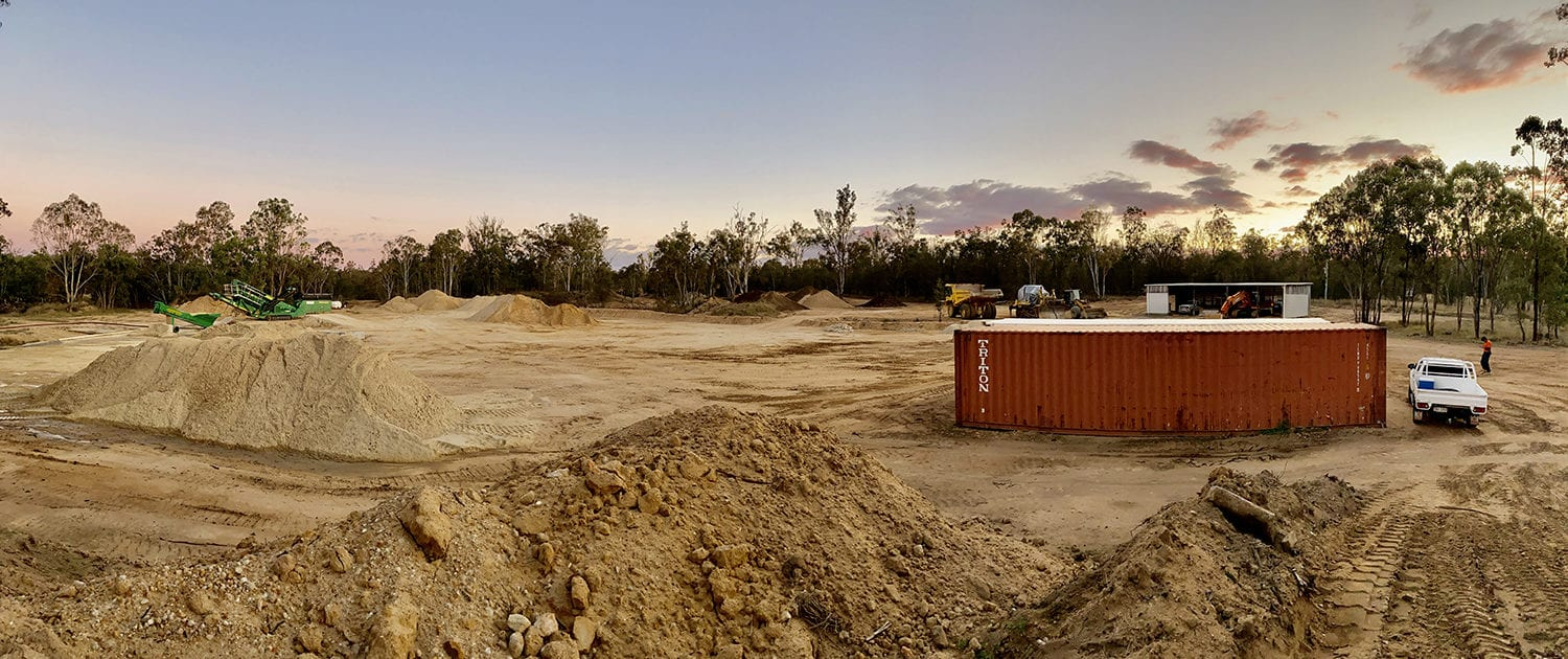 About MRP Sand Quarry | South East Queensland Sand Quarry