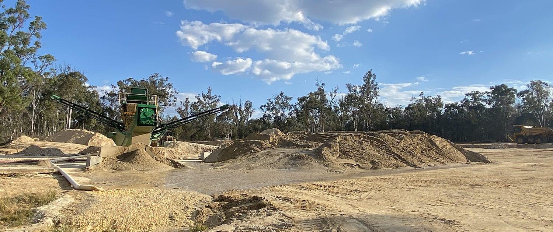 MRP Sand Quarry Hero 2 - Photo Of Sand Quarry South East Queensland