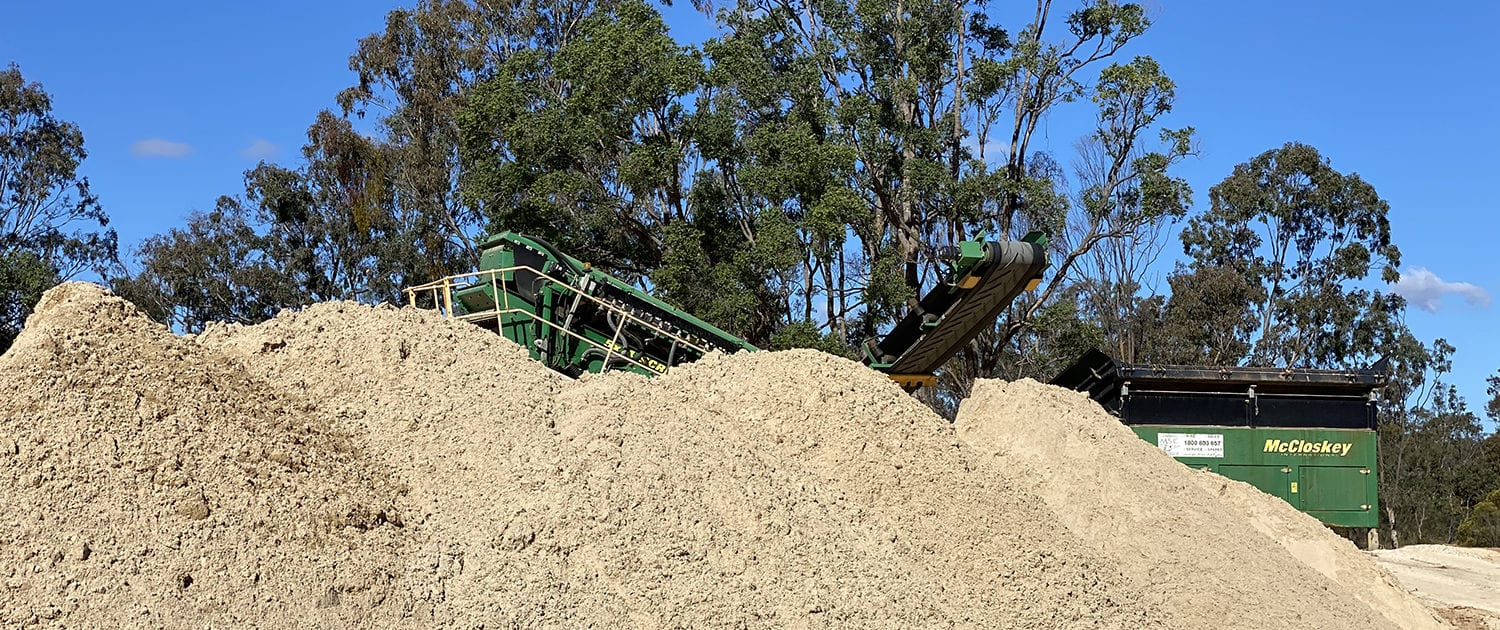 MRP Sand Quarry Hero 3 - Digging Sand From Sand Quarry, South East Queensland